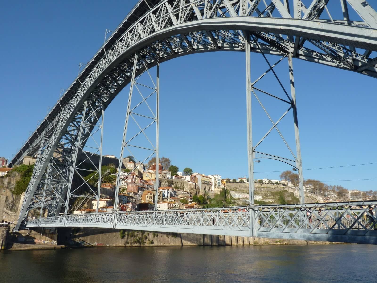 Ponte Luis I Porto Portugal Mundo Indefinido