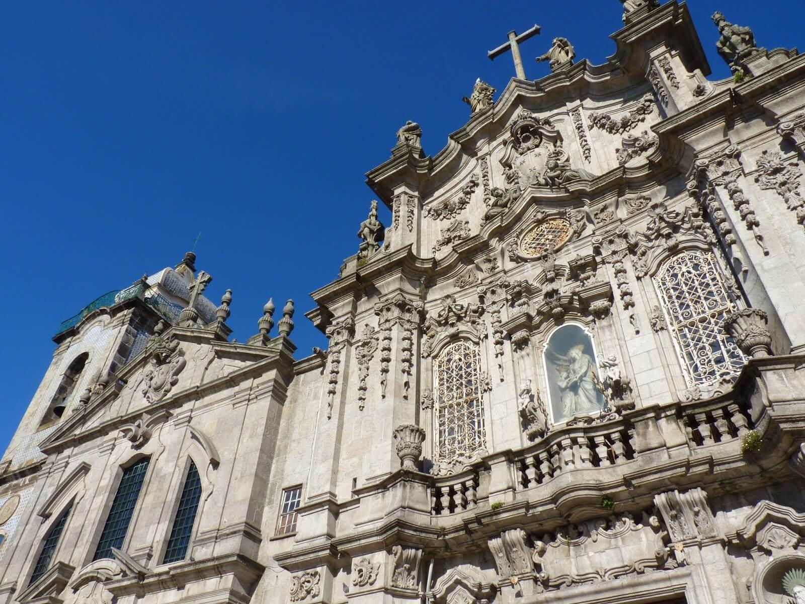 Igrejas dos Carmelitas e do Carmo Porto Portugal Mundo Indefinido