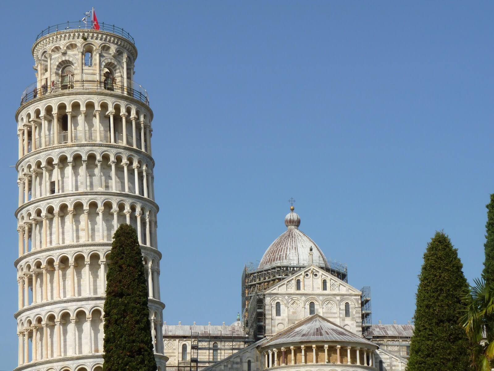 Torre di Pisa Itália Mundo Indefinido