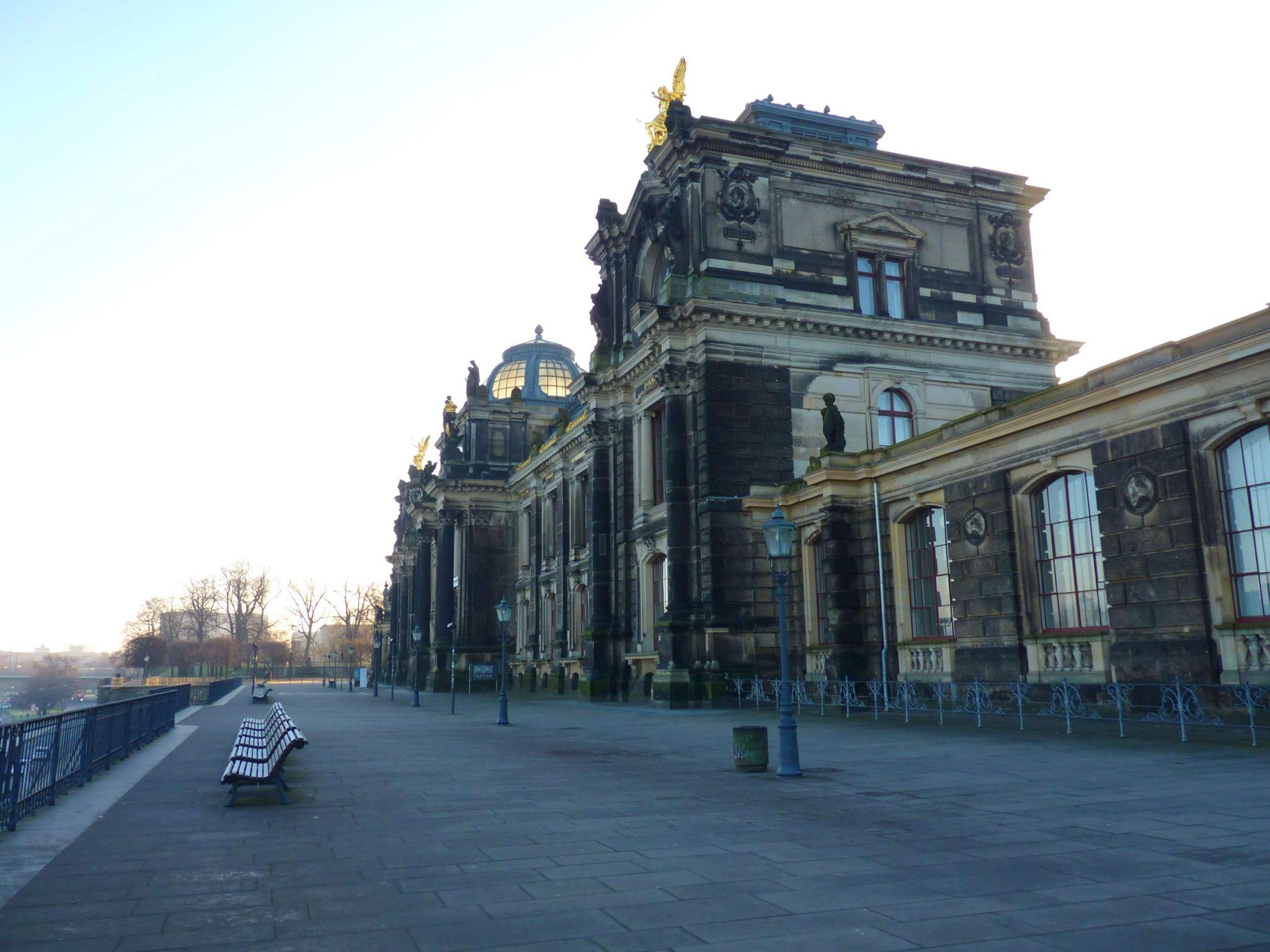Bruhlsche terrasse 02 Dresden Alemanha Mundo Indefinido