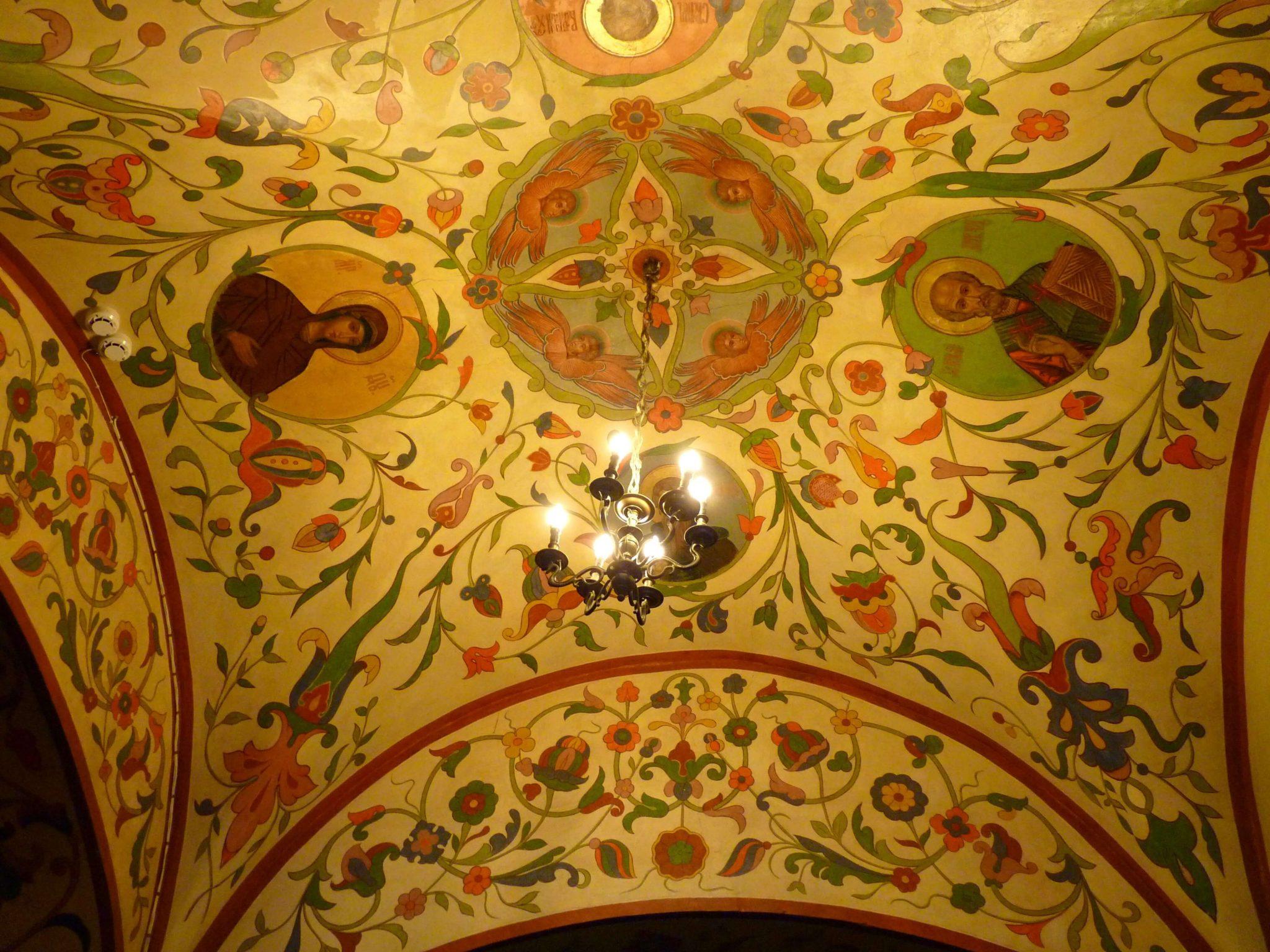 Catedral de São Basílio interior 01 Moscovo Rússia Mundo Indefinido