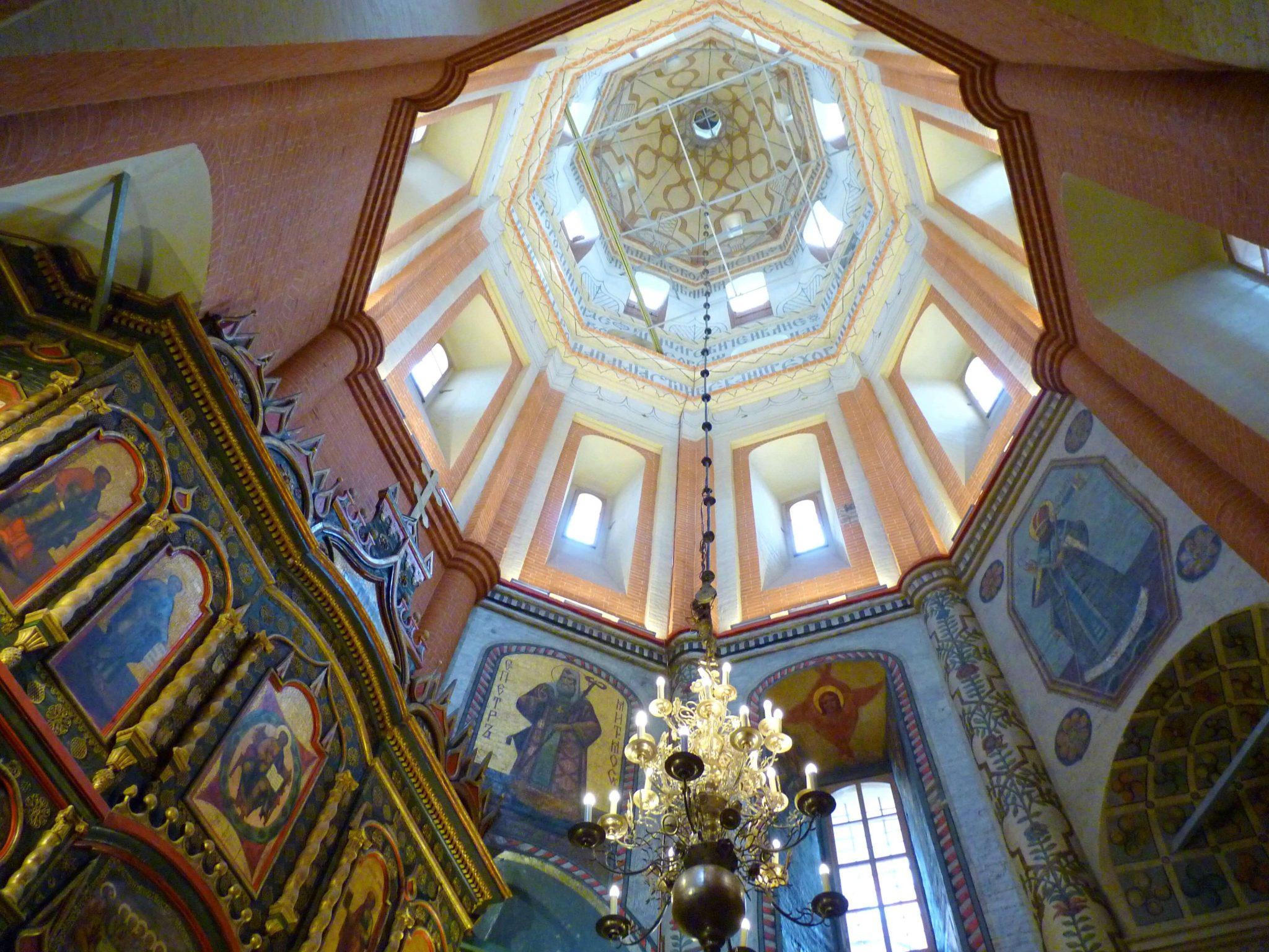 Catedral de São Basílio interior 04 Moscovo Rússia Mundo Indefinido