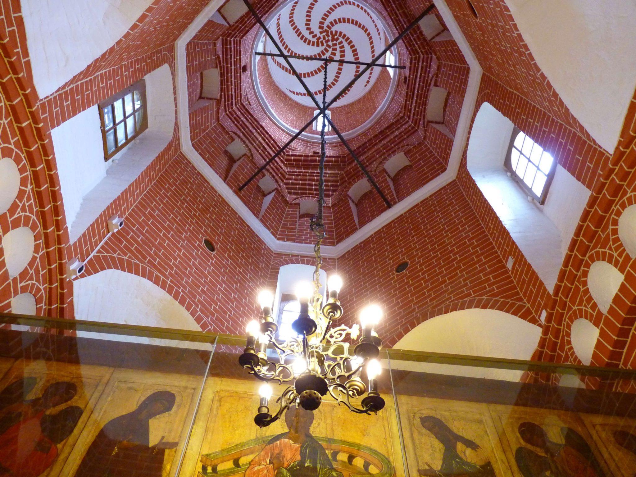 Catedral de São Basílio interior 05 Moscovo Rússia Mundo Indefinido