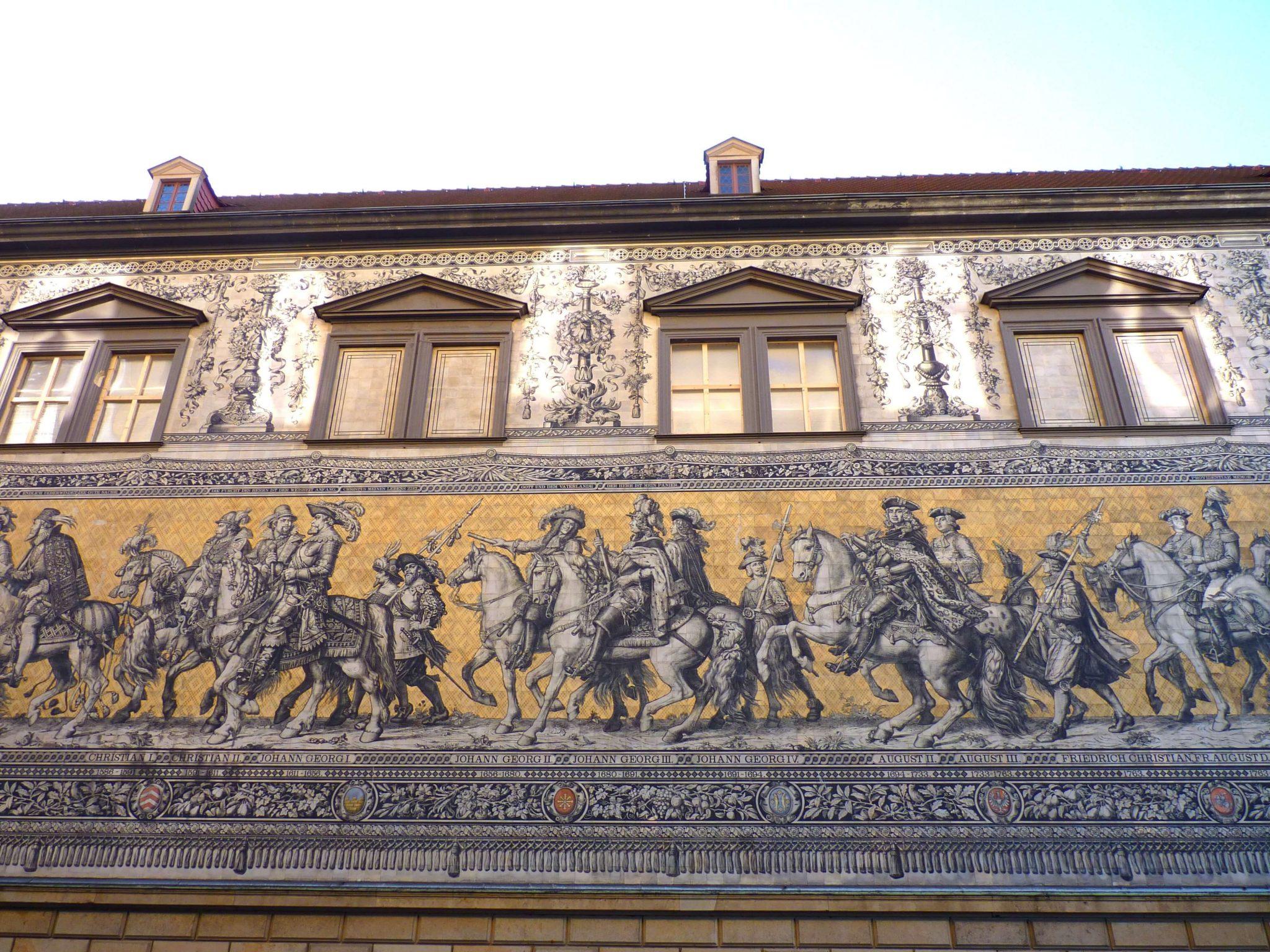 Fürstenzug 02 Dresden Alemanha Mundo Indefinido