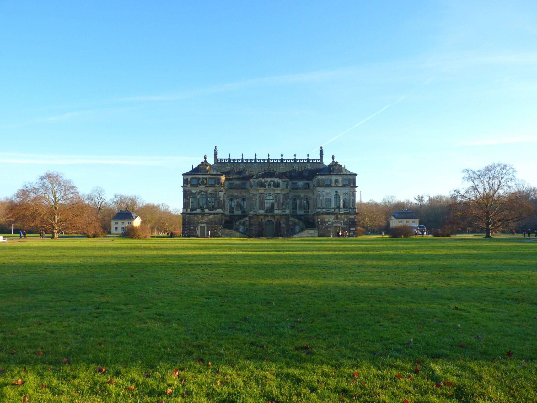 Grosser Garten 02 Dresden Alemanha Mundo Indefinido