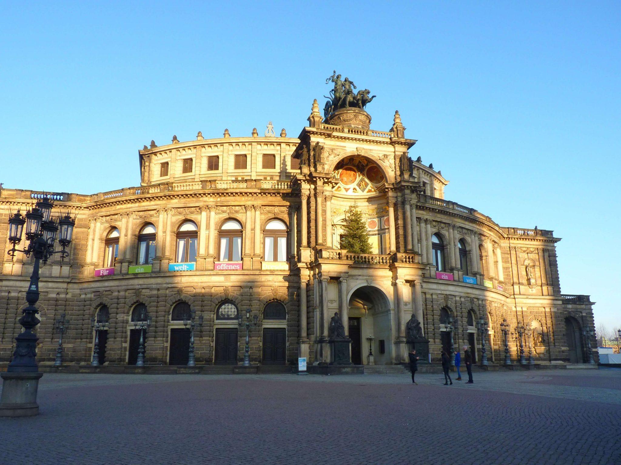 Opera 01 Dresden Alemanha Mundo Indefinido