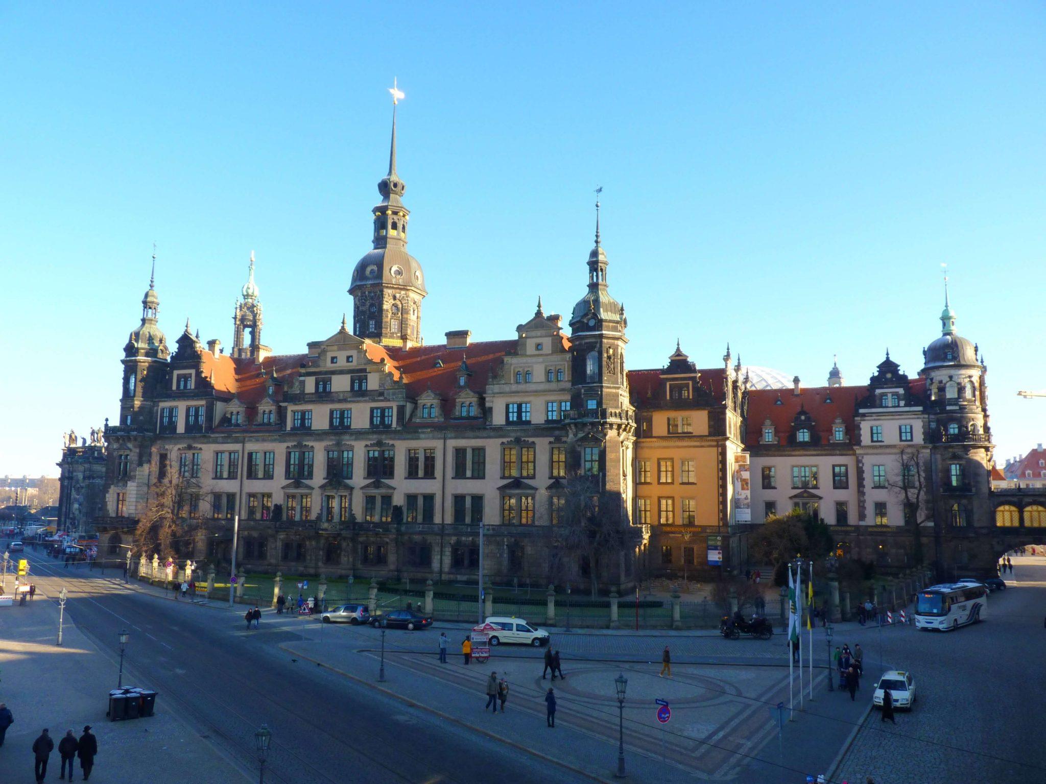 Residenzschloss 01 Dresden Alemanha Mundo Indefinido