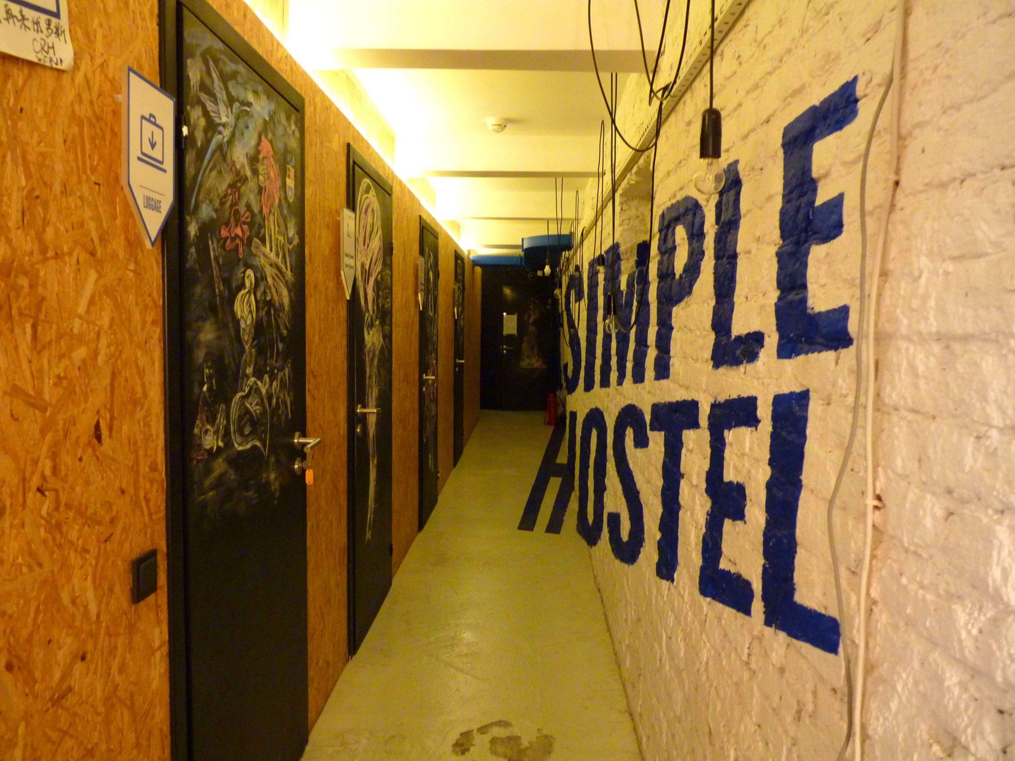 Simple Hostel corredor São Petersburgo Rússia Mundo Indefinido