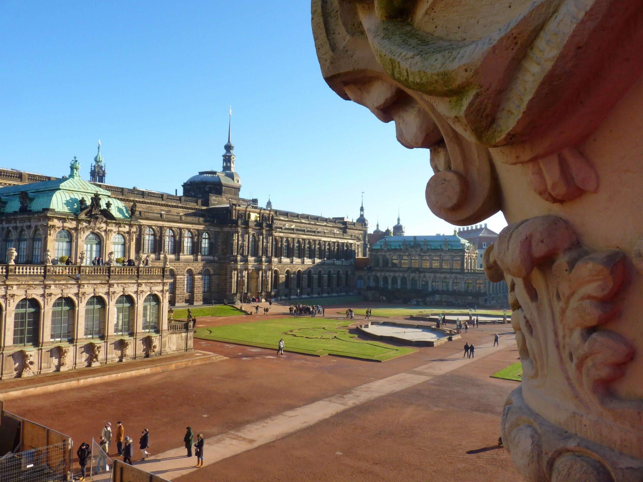 Zwinger 02 Dresden Alemanha Mundo Indefinido