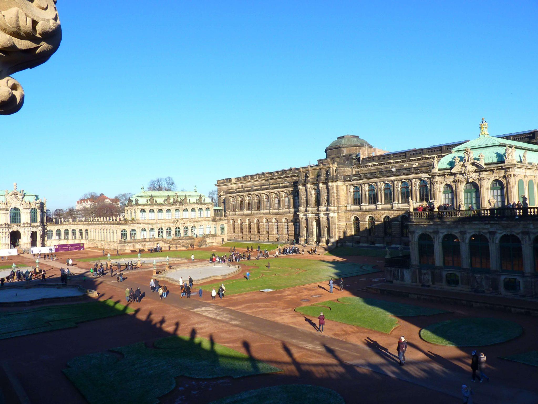 Zwinger 03 Dresden Alemanha Mundo Indefinido