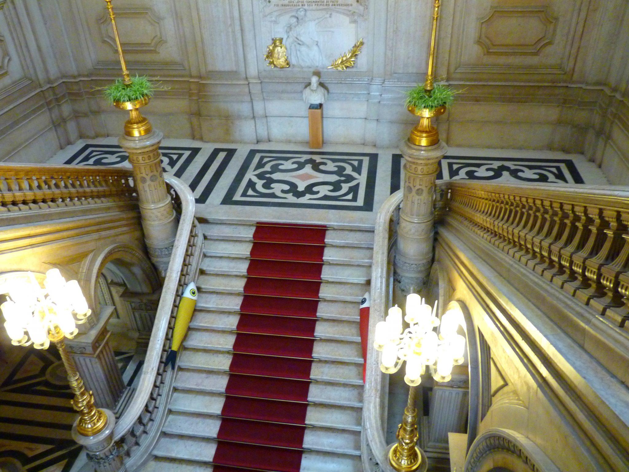 Câmara Municipal de Lisboa escadaria 02 Lisboa Portugal Mundo Indefinido