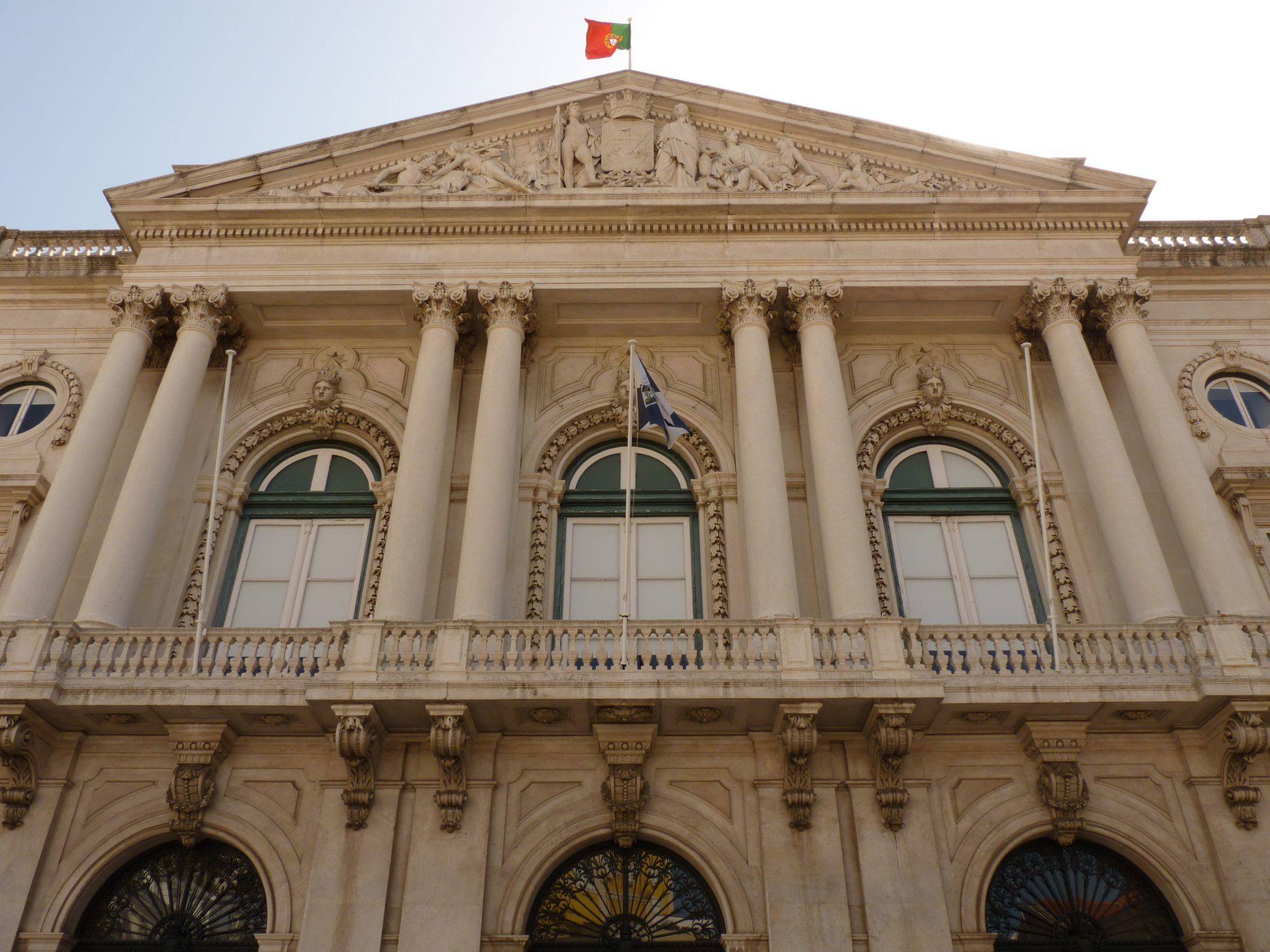 Câmara Municipal de Lisboa fachada Lisboa Portugal Mundo Indefinido