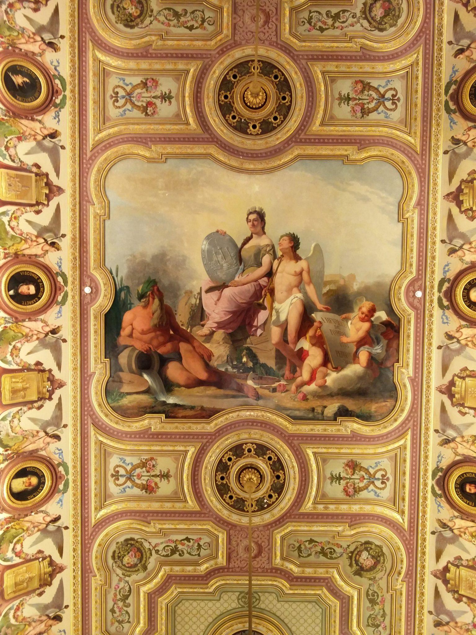 Câmara Municipal de Lisboa salão nobre 03 Lisboa Portugal Mundo Indefinido.JPG