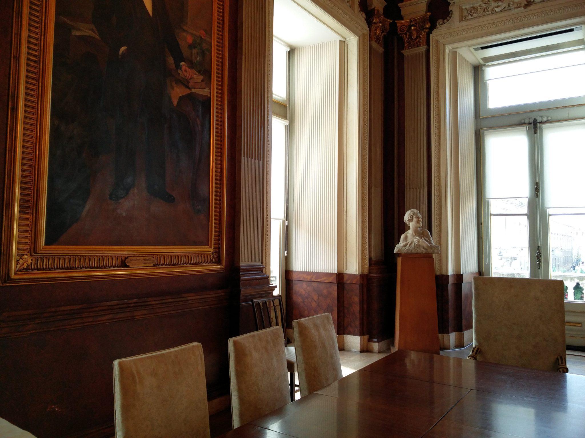 Câmara Municipal de Lisboa sala da república 01 Lisboa Portugal Mundo Indefinido