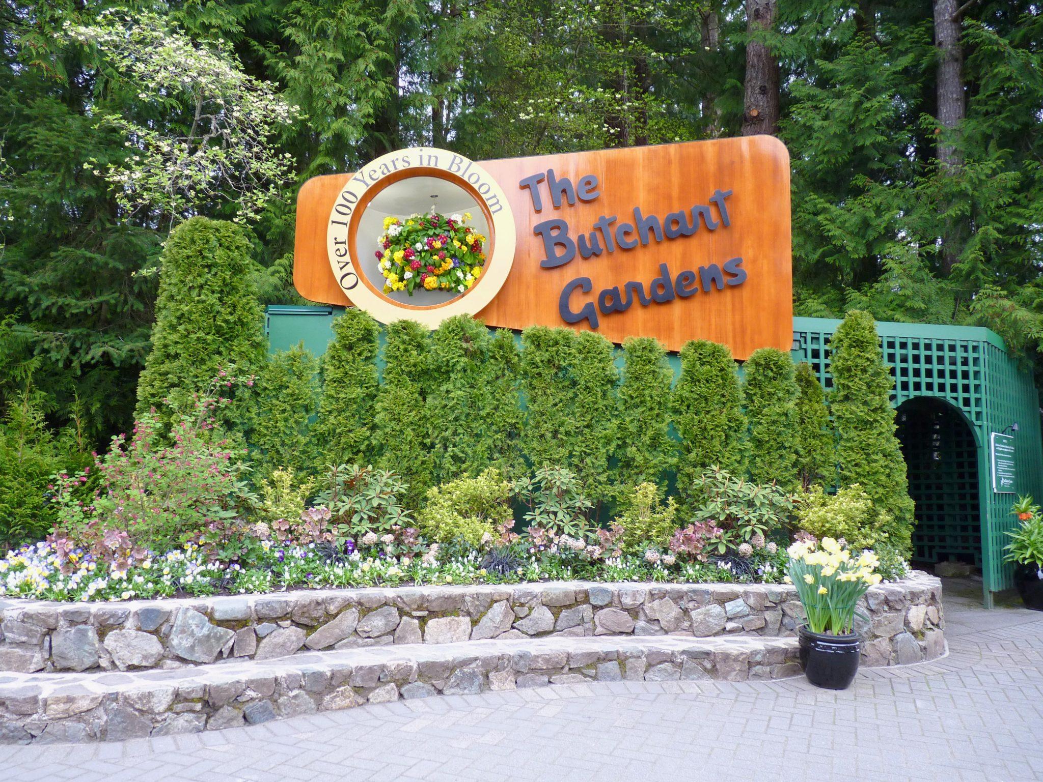 Butchart Gardens 01 Victoria Canadá Mundo Indefinido