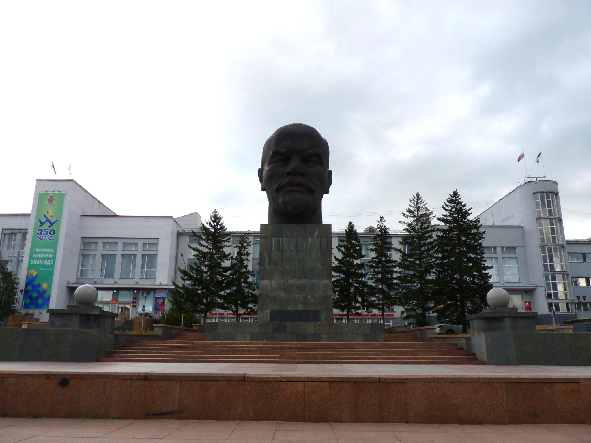 Cabeça Lenin 02 Ulan-Ude Rússia Mundo Indefinido