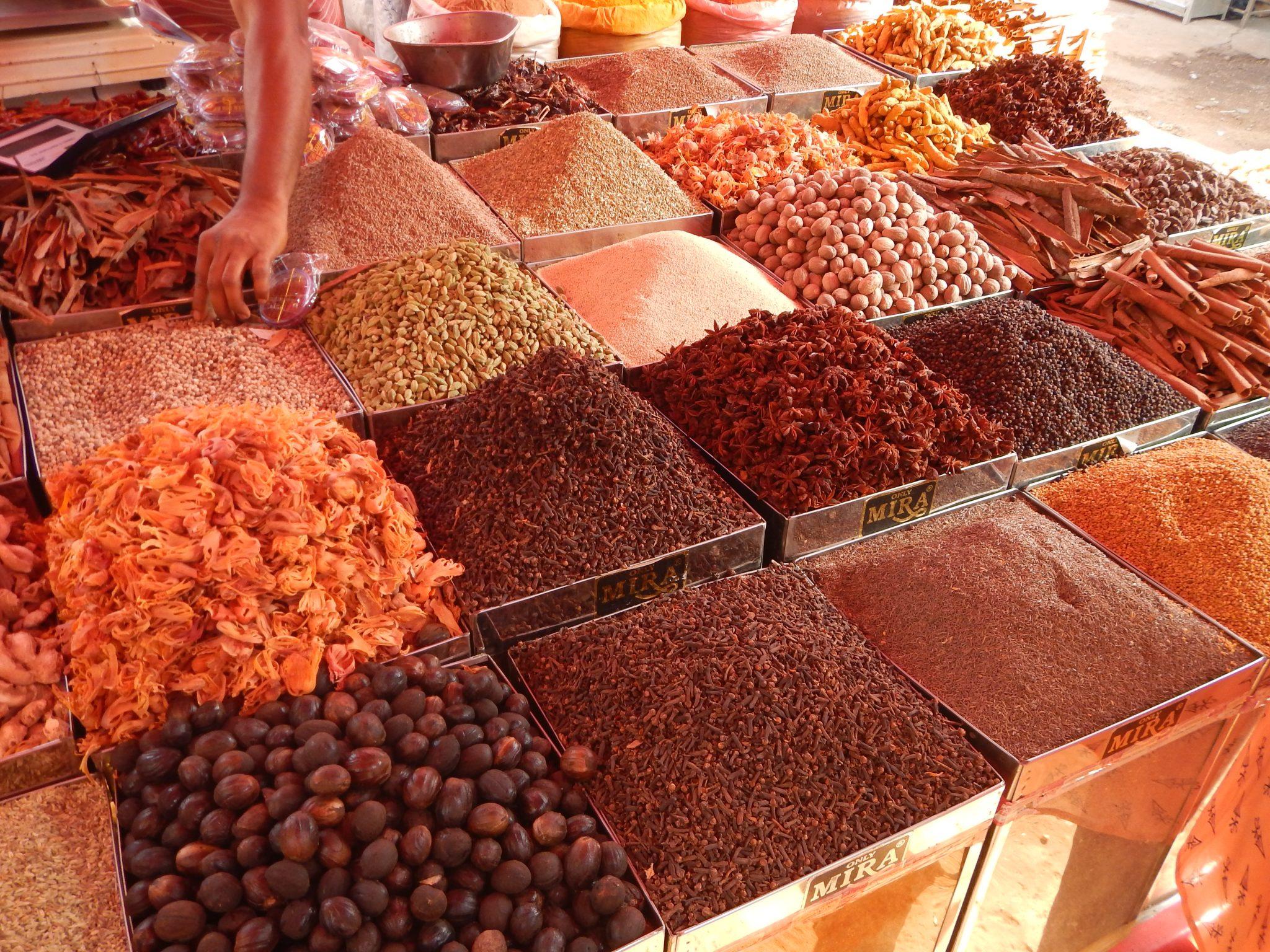 Especiarias Mercado Mapuçá Goa Índia 03 Mundo Indefinido