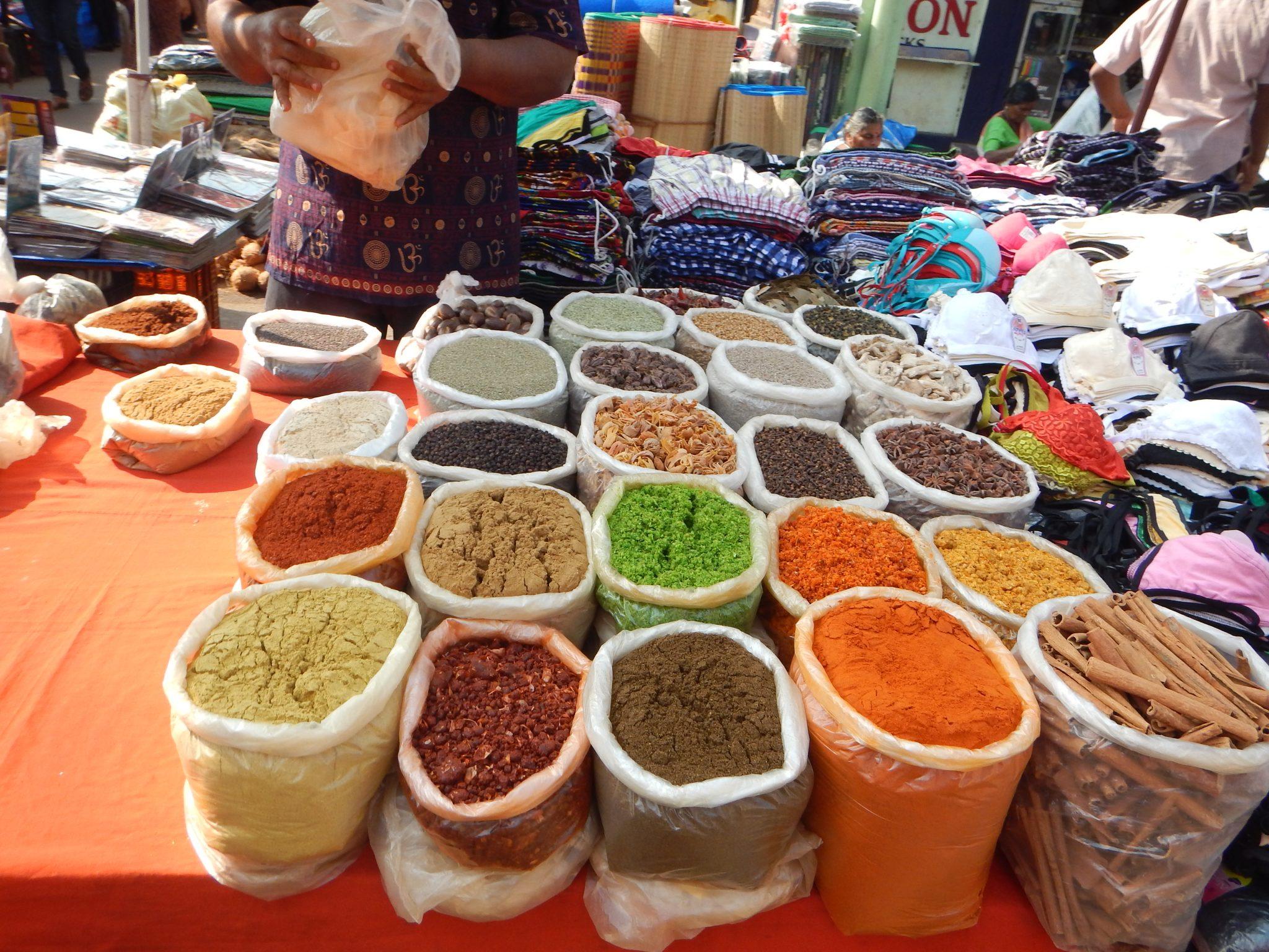 Especiarias Mercado Mapuçá Goa Índia 04 Mundo Indefinido