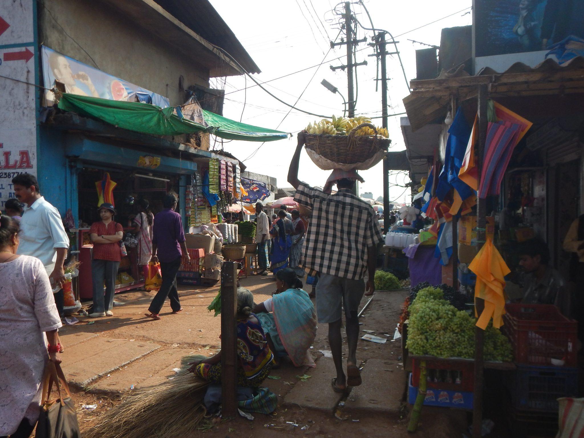 Mercado Mapuçá Goa Índia 01 Mundo Indefinido