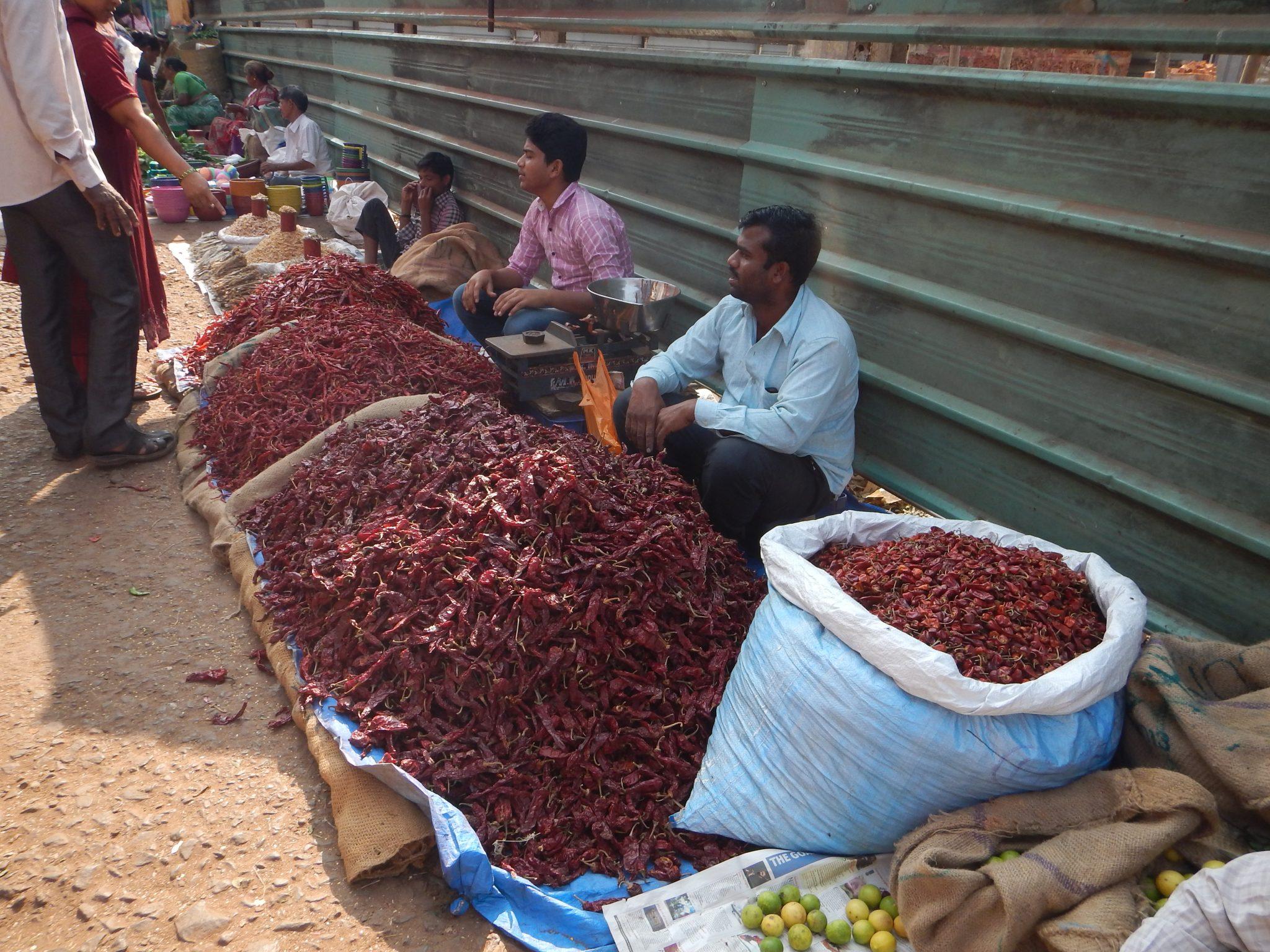 Mercado Mapuçá Goa Índia 01