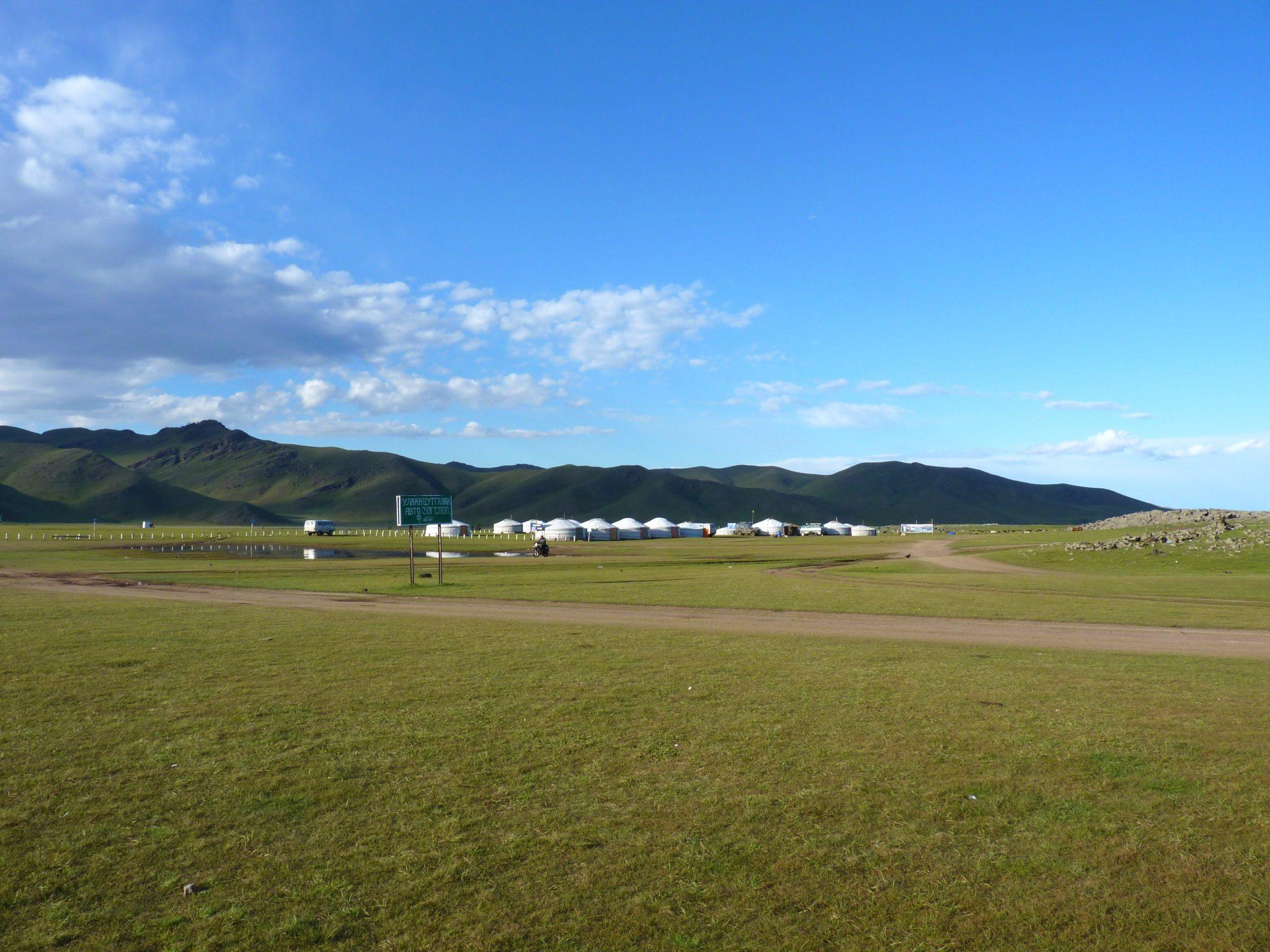 Acampamento nómada 01 Mongólia Mundo Indefinido
