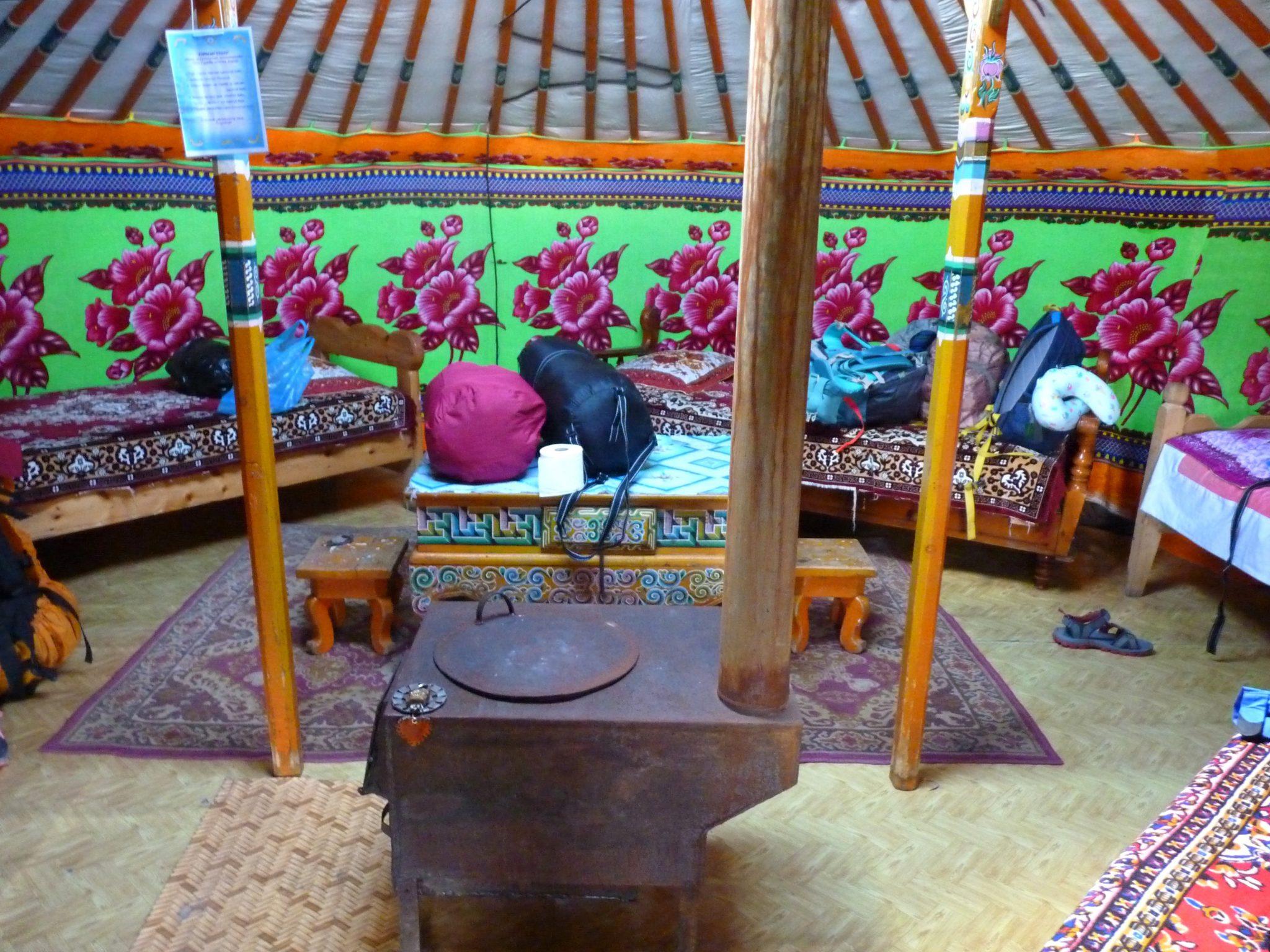 Acampamento nómada 05 Mongólia Mundo Indefinido