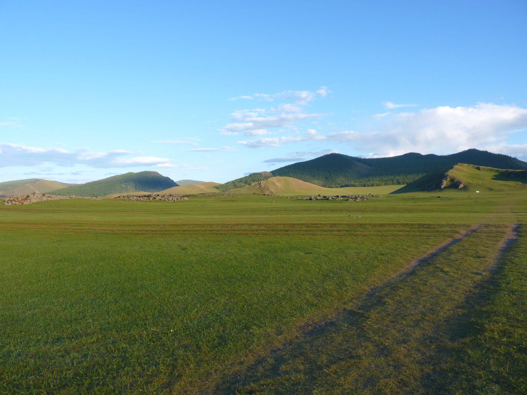 Acampamento nómada 07 Mongólia Mundo Indefinido