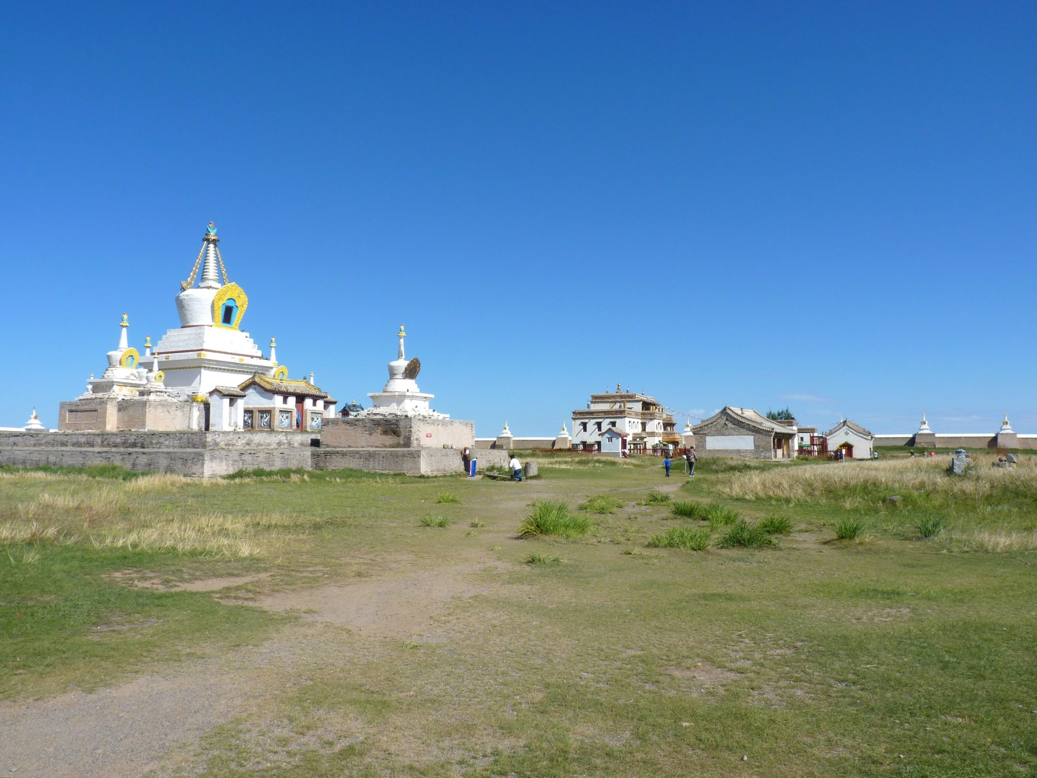 Mosteiro de Erdere Zuu 03 Mongólia Mundo Indefinido