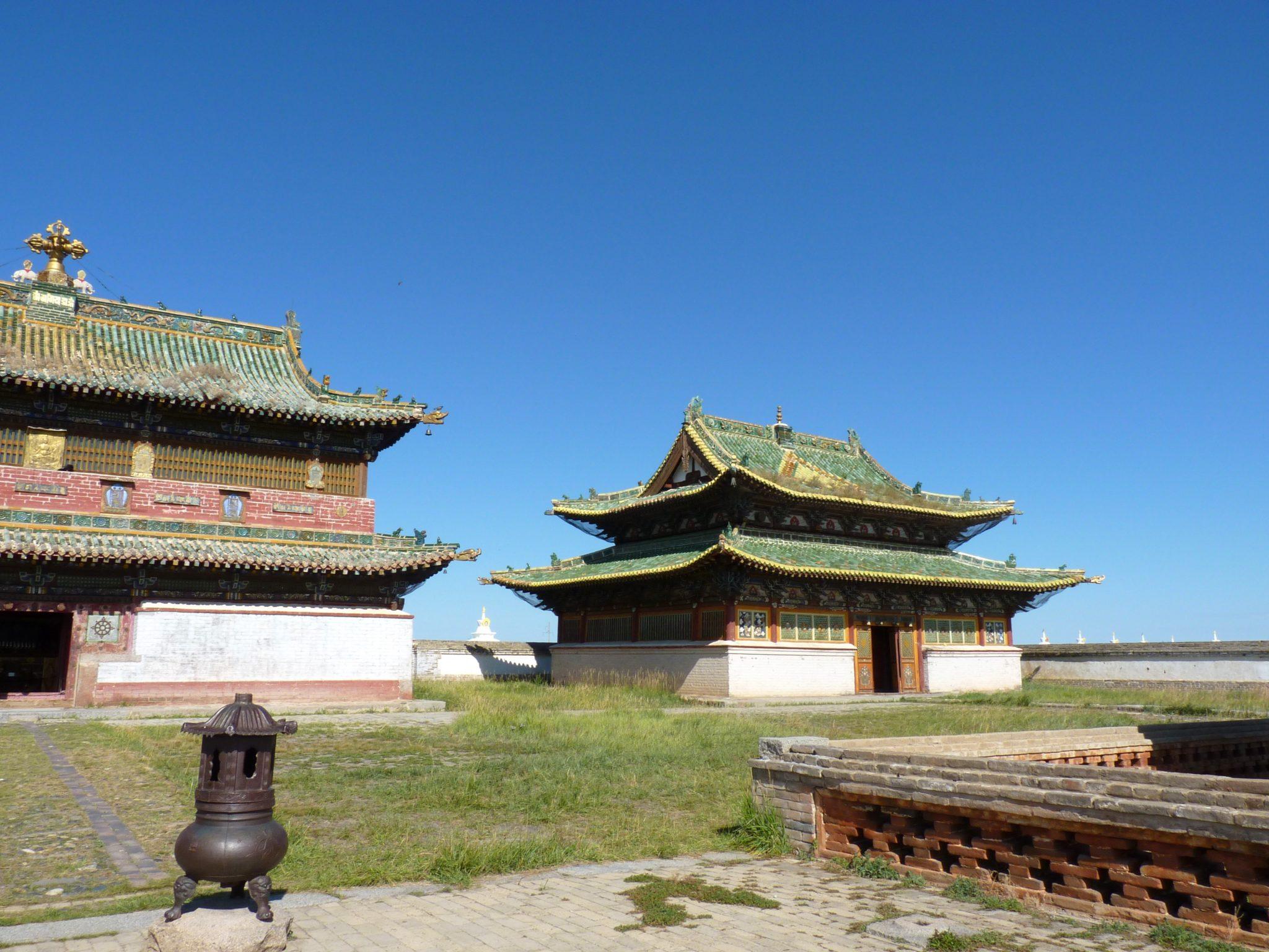 Mosteiro de Erdere Zuu 05 Mongólia Mundo Indefinido