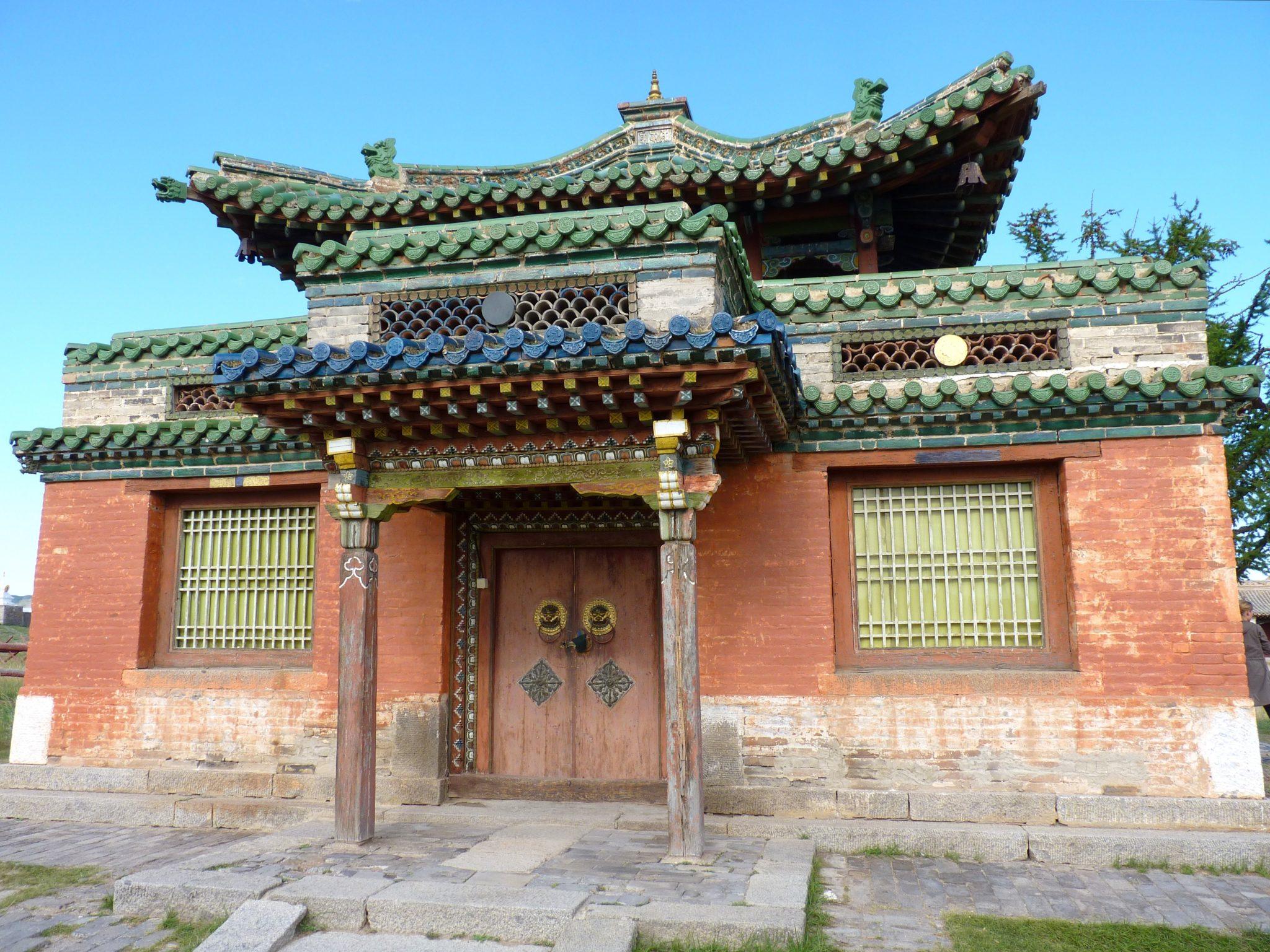 Mosteiro de Erdere Zuu 06 Mongólia Mundo Indefinido