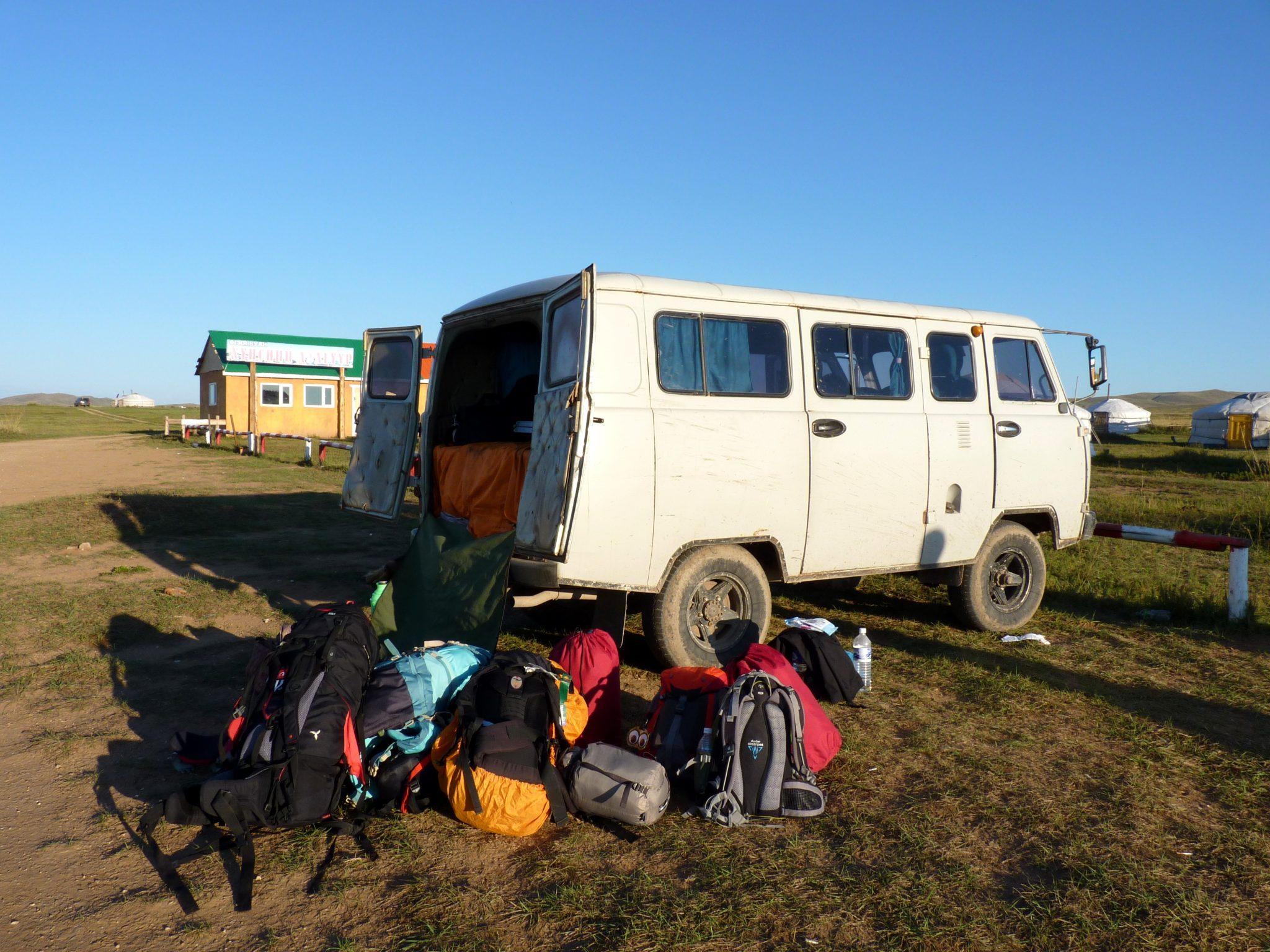 Carrinha russa UAZ 01 Mongólia Mundo Indefinido