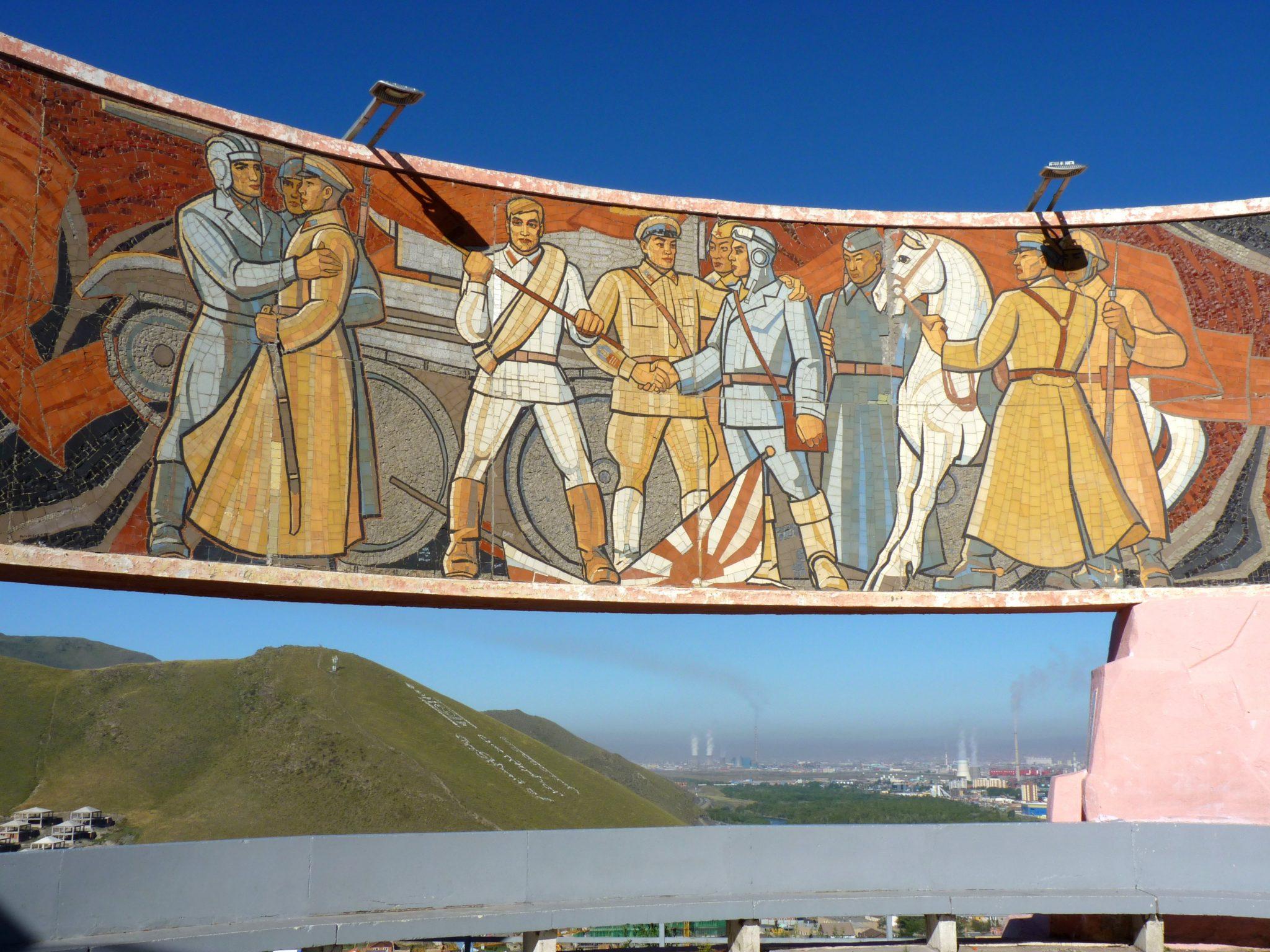 Memorial Zaisan 01 Ulaanbaatar Mongólia Mundo Indefinido