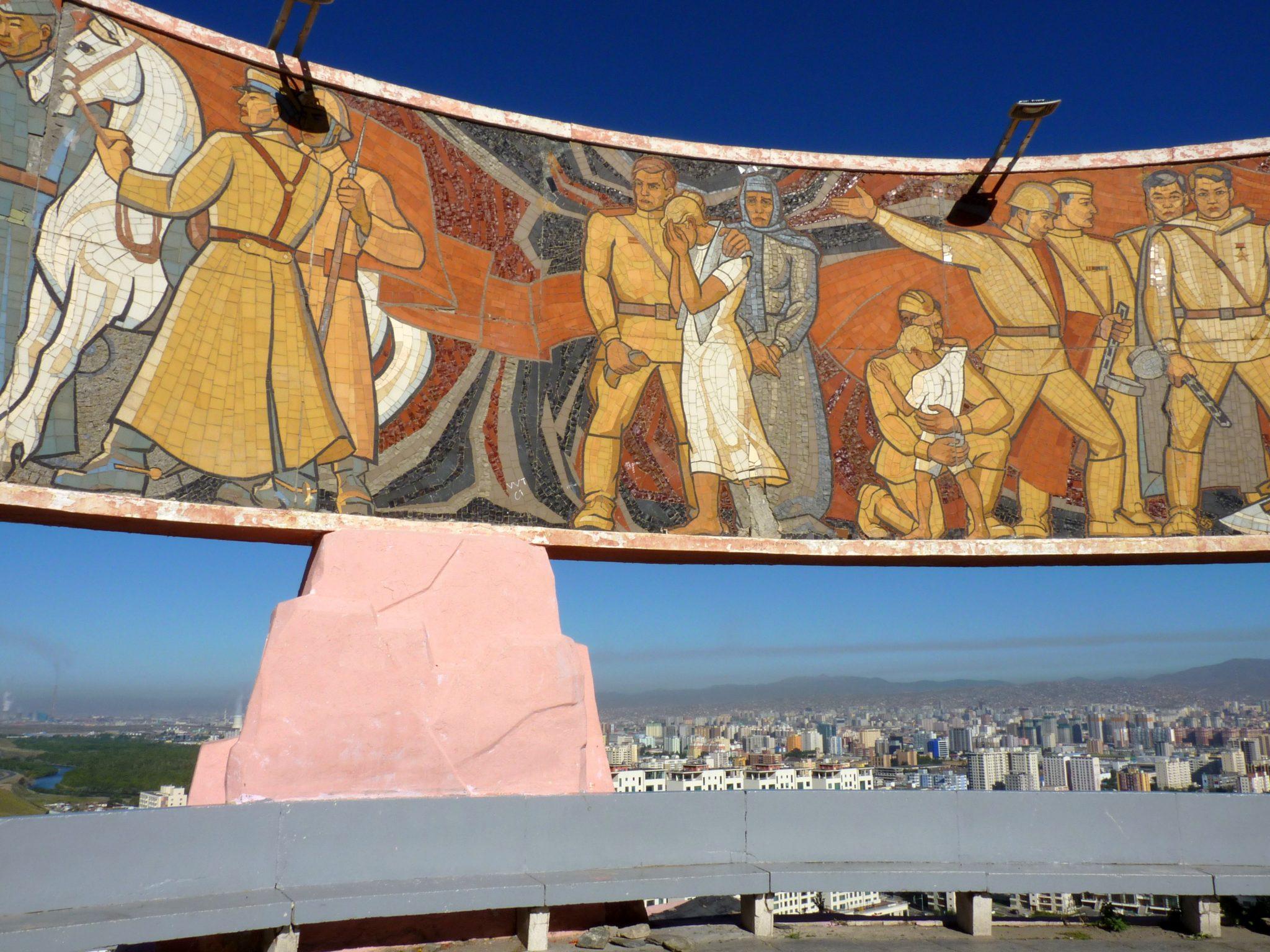 Memorial Zaisan 02 Ulaanbaatar Mongólia Mundo Indefinido