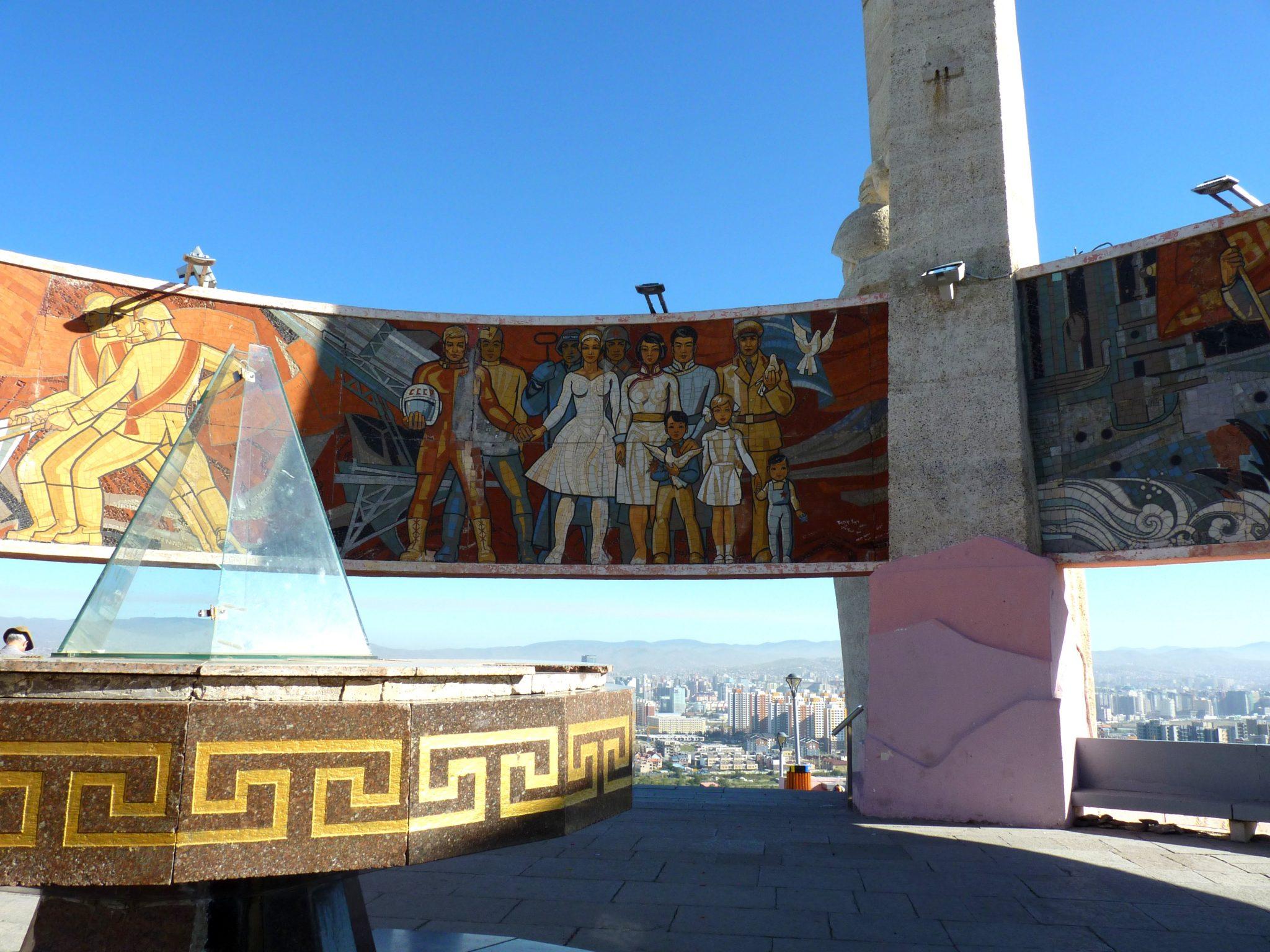 Memorial Zaisan 03 Ulaanbaatar Mongólia Mundo Indefinido