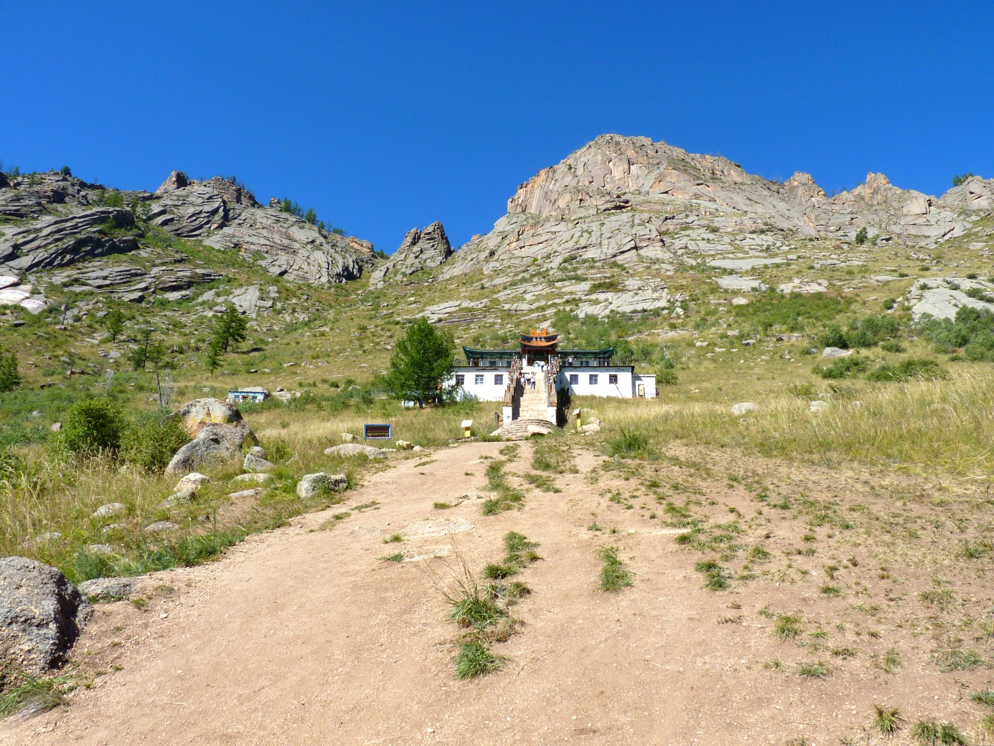 Templo Aryabal 02 Mongólia Mundo Indefinido