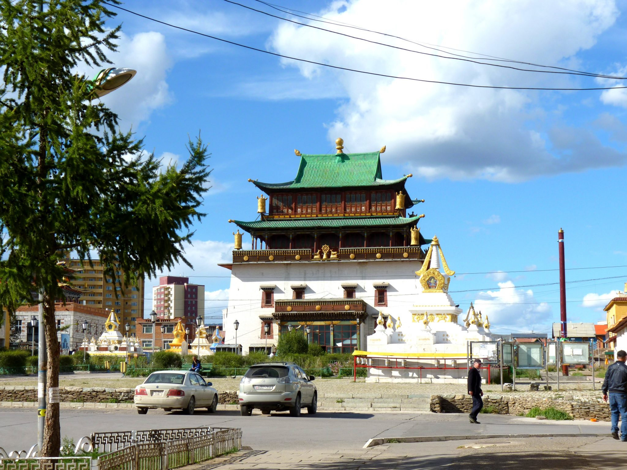 Mosteiro de Gandantegchinlen Khiid 02 Ulaanbaatar Mongólia Mundo Indefinido